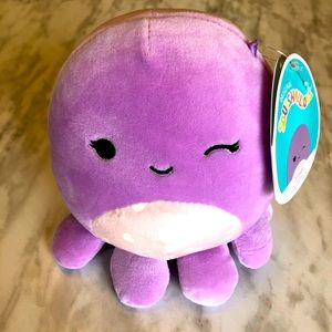 """NWT 5"""" Violet the Octopus Squishmallow"""